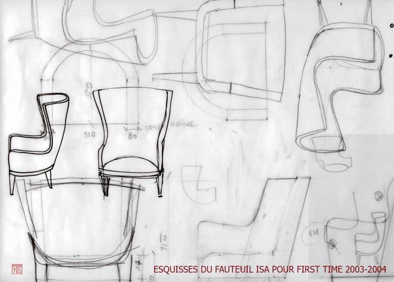 Mobilier Yves Taralon/ FIRST TIME