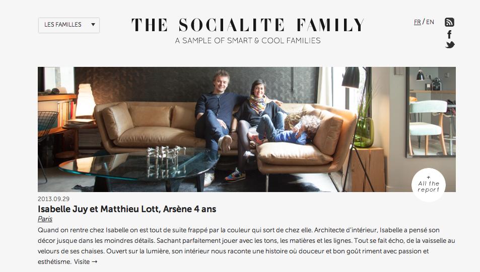 THE SOCIALITE FAMILY 2013 FRANCE